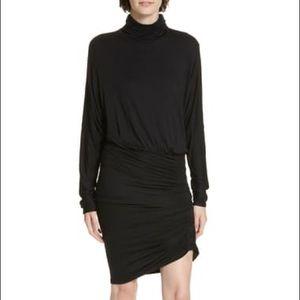 Veronica Beard Jeans Manda Ruched Jersey Dress
